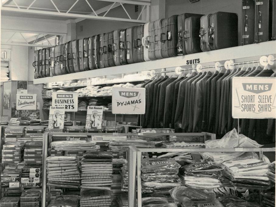 Basha's Junction Street store in the 1960s
