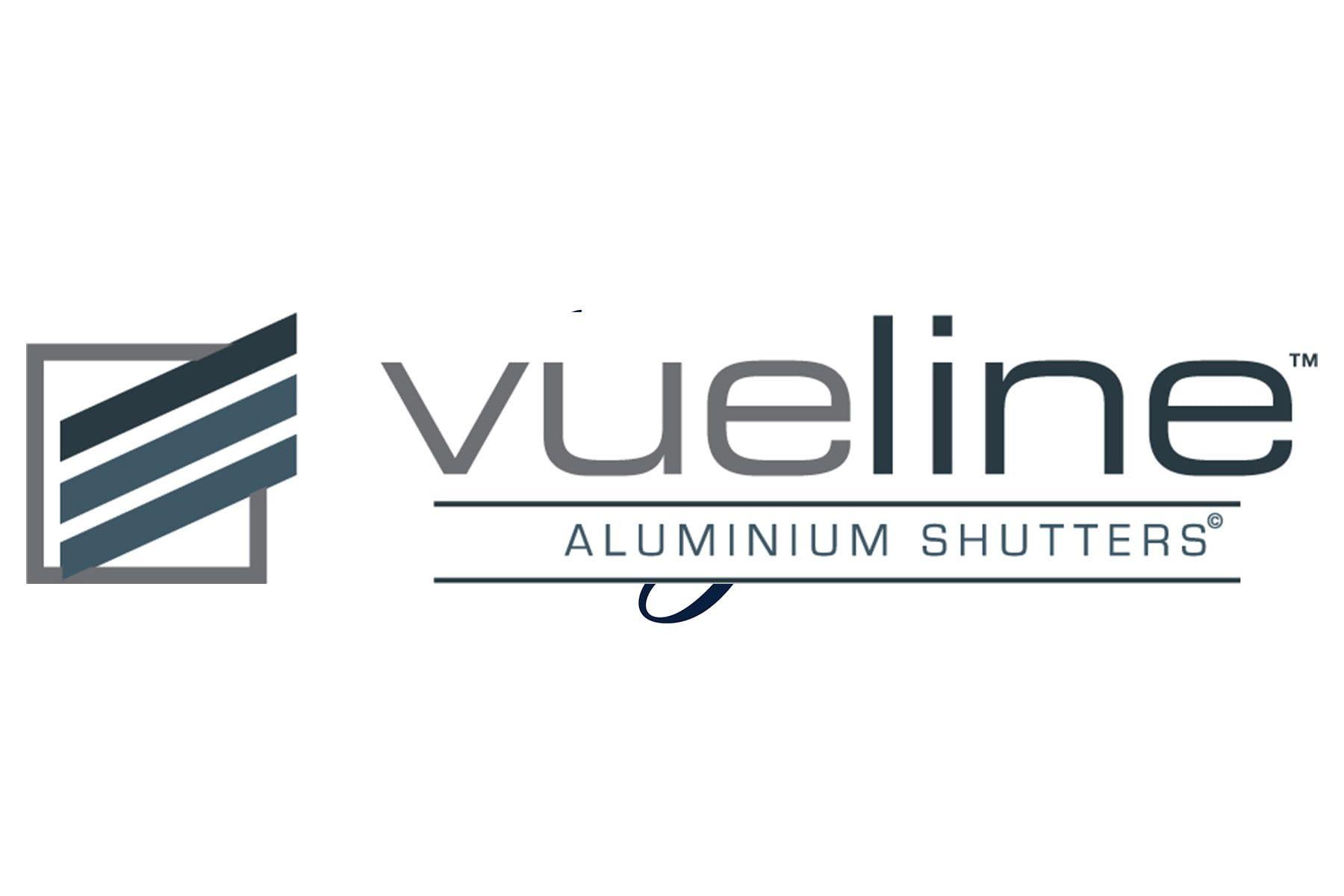 Vueline Aluminium Screens and Shutters Logo
