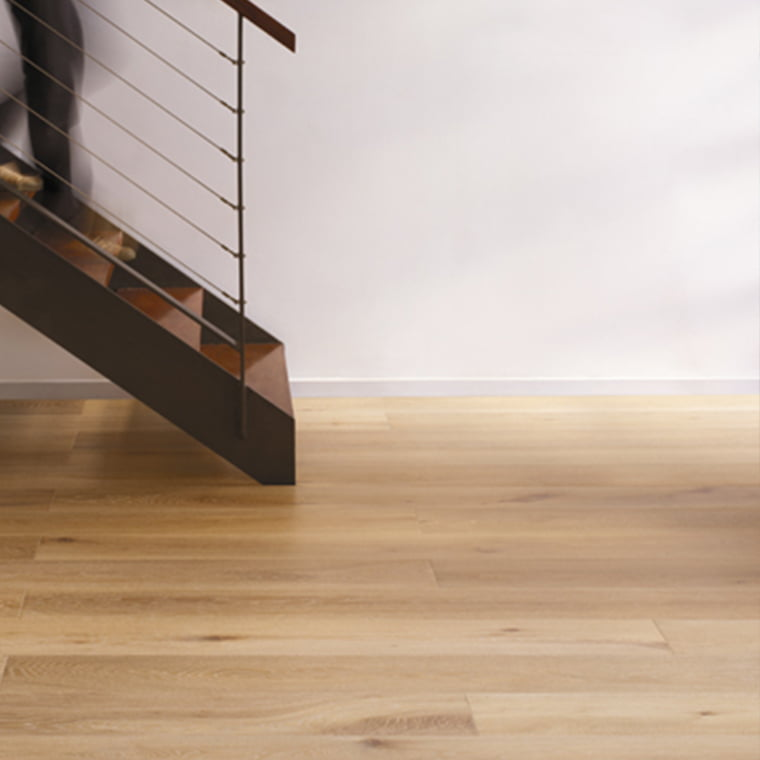 Styling Wooden floor covering around staicase